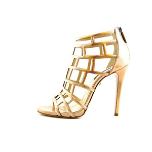 Ruthie Davis Leather Rosegold Sandals