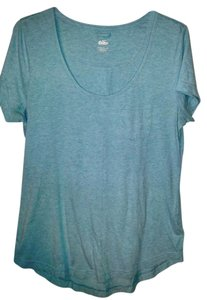 Nike X Large Short Sleeve Scoopneck T Shirt Teal