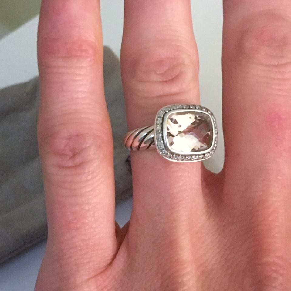 David Yurman Stone Is Pink Morganite and Diamond Petite Noblesse ...