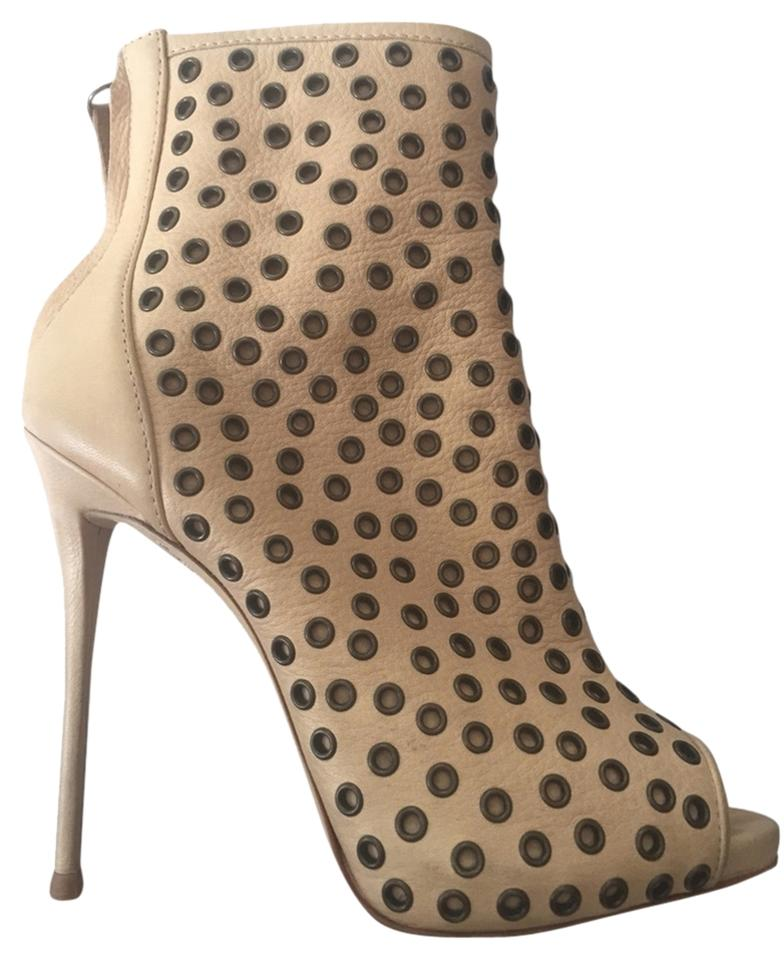 WOMENS Giuseppe Has Zanotti Skin Beige Boots/Booties Has Giuseppe a long reputation 5dc97d
