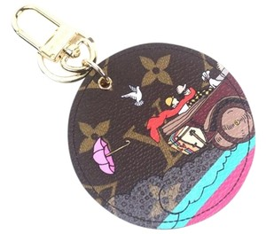 Louis Vuitton Louis Vuitton Monogram Illustre Travel Bag Charm New