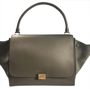 Céline Satchel in Sage