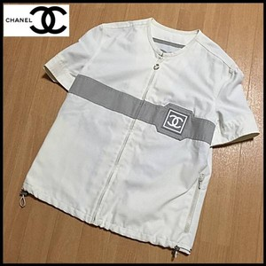 Chanel Top white / gray