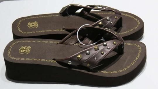 Route 66 Brown Sandals
