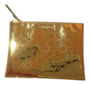 Kate Spade New kate spade metro gold large pouch
