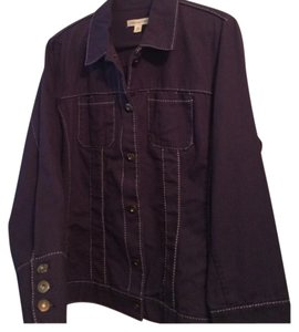 Coldwater Creek Womens Jean Jacket