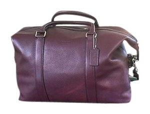 Coach Oxblood Travel Bag