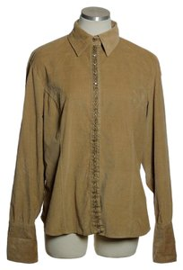 Harv Benard Button Down Shirt Beige