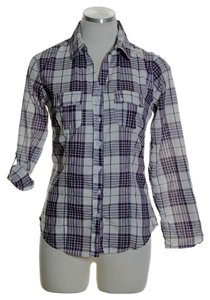 Ambiance Apparel Button Down Shirt Multi-color