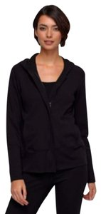 Eileen Fisher Comfy Stretch Refined Hoodie Jacket