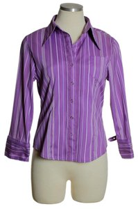 Greg & Tony Button Down Shirt Purple