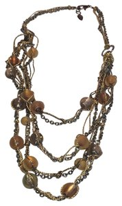 Coldwater Creek Statement Necklace MultiStrand