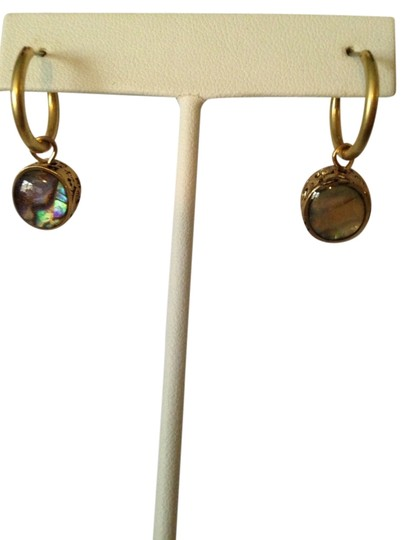 Preload https://item1.tradesy.com/images/kenneth-cole-gold-gold-tone-abalone-earrings-2016085-0-0.jpg?width=440&height=440
