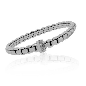 Fope Fope 18k White Gold 0.18ctw Diamond Bracelet