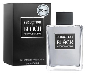 Antonio Banderas Seduction In Black by Antonio Banderas ~ Men's EDT 6.8 oz