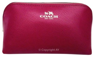 Coach Coach Crossgrain Leather F53386 Cosmetic Case 17
