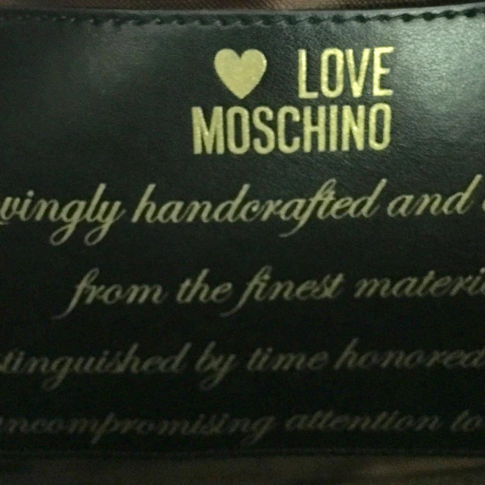 love moschino large quilted black tote bag totes on sale. Black Bedroom Furniture Sets. Home Design Ideas