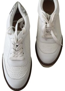 Kurt Geiger London White with silver. Athletic