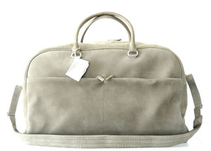 Brunello Cucinelli Weekender Travel Gym Duffle Beige Travel Bag