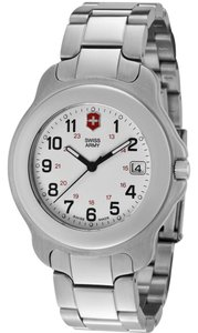 Victorinox Swiss Army women's Officer's White Dial Stainless Steel 241034