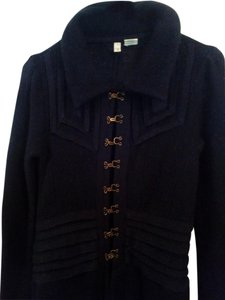 Anthropologie 100% Lambswool Fitted Long Coat