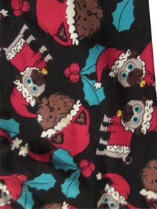 LuLaRoe NWT LuLaRoe CHRISTMAS 2016 PUG, DOG, CATS,SANTA Leggings, OS One Size Holiday Leggings