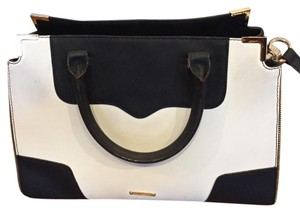 Rebecca Minkoff Satchel in black and white