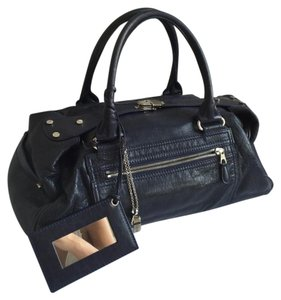 Balenciaga Satchel in Navy Blue