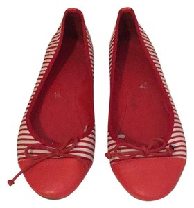 Forever 21 Red white Flats
