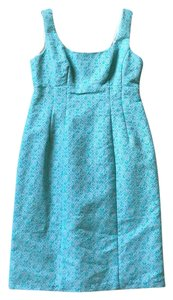 Nanette Lepore short dress Aqua bluegreen on Tradesy