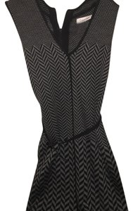 Calvin Klein short dress Black and gray on Tradesy