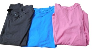 Gap Cotton Short Sleeves Crew Neck Fit 3 T Shirt Blue Pink and Black