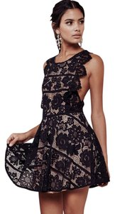 For Love & Lemons Lace Lbd Party Backless Sexy Dress