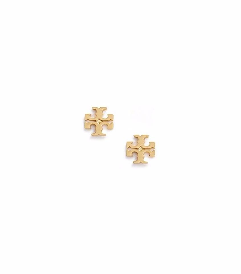 gold the earrings context beaverbrooks large zirconia stud cubic p