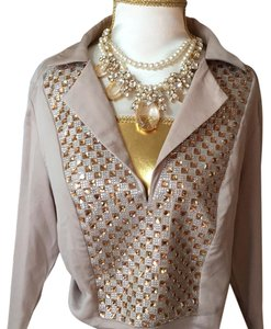 bebe Top taupe