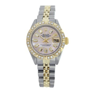 Rolex Rolex Datejust 6917 Pink Mother of Pearl Diamond Lady Watch