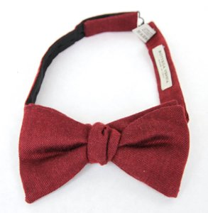 Bottega Veneta New Authentic Bottega Veneta Silk/cashmere Bow Tie Red 270827 6100