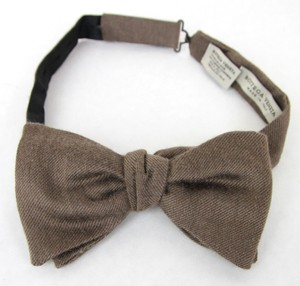 Bottega Veneta Light Brown New Silk/Cashmere 270827 2800 Tie/Bowtie