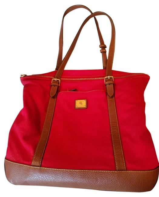 Item - Red Canvas Tote