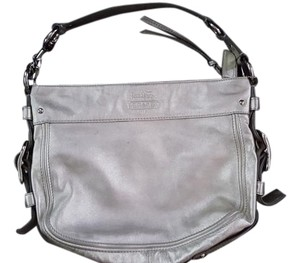 Coach Leather Hardware Hobo Bag