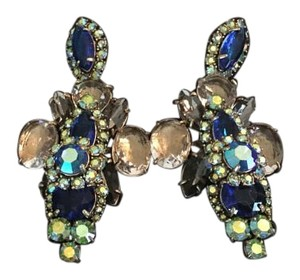 J.Crew Georgeous multi stone earrings