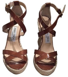 Jimmy Choo Brown Wedges