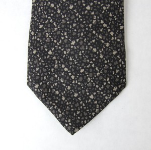 Bottega Veneta Black/Beige New Men's Silk Black/Beige 325508 1062 Tie/Bowtie