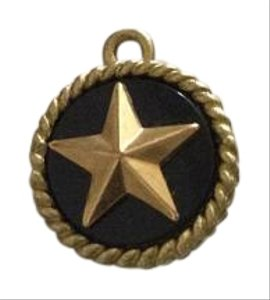 Chanel CHANEL DOUBLE SIDED BRONZE STAR CHARM
