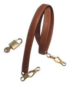 Hermès Hermes Purse Strap with gold tone hardware, lock, 2 keys, and dustbag