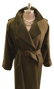 Chrstian Dior Dior Trench Green Trench Coat