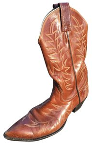 Larry Mahan Brown Boots