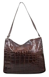 Bergdorf Goodman Alligator Leather Hobo Bag