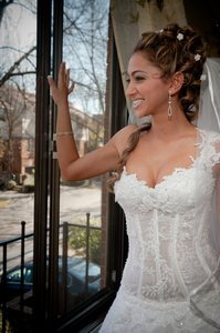 Organza Custom Dress Wedding Dress