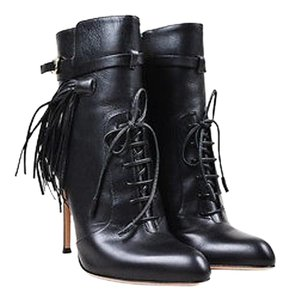 Gianvito Rossi Leather Black Boots